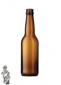 Bierfles Long Neck 33 cl bruin 3249 stuks 1 Pallet inclusief statiegeld (€ 9.00)