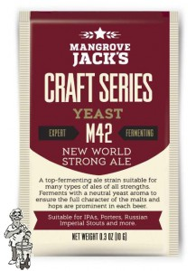 Mangrove Jack`s M42 New World Strong Ale 10 gram