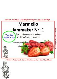 Marmello geleerpoeder NR 1 zonder suikertoevoeging kleinverpakking