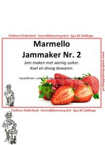 Marmello geleerpoeder NR 2. 1 Kilo