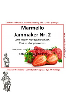 Marmello geleerpoeder NR 2. kleinverpakking