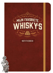 Notitieboek Mijn favoriete Whisky's