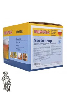 Moutpakket Brewmaster Edition - Mouten Kop - 20 l