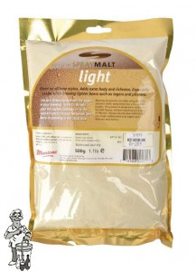 Muntons Moutextractpoeder Light 7-12 EBC 0,5 kg