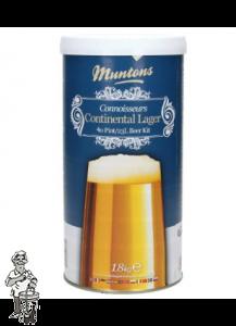 Bierkit Muntons Continental Lager 1,8 kg
