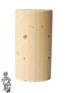 Wijnkurk nr.2 natuurkurk /1000 stuks 24x 45 mm voorbehandeld