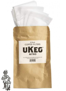 Growlerworks | uKeg Nitro filterzakjes - 10 pack