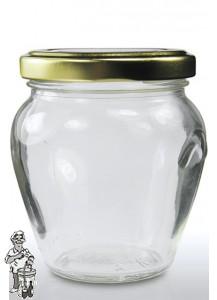 Jampot rond met oor 314 ml