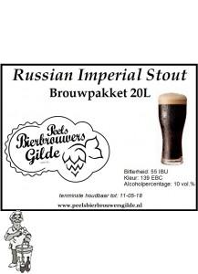 Peels Bierbrouwpakket Russian Imperial Stout 20 Liter