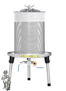Perszak Speidel Hydropress 40 liter 3 bar roestvrij staal, fruitpers