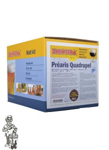 Brewferm Moutpakket Prearis Quadrupell