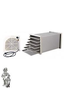 Biosec Domus RVS Droogtoestel   220 volt, 500 watt.