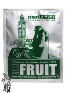 Puriferm fruit turbo yeast met enzyme