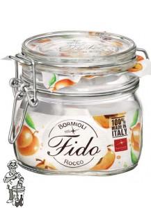 Bormioli Glazen voorraadpot 500 ml met klemdeksel