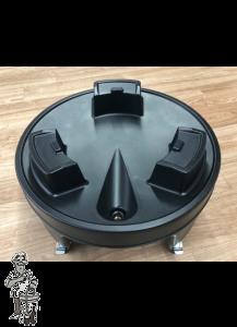 Onderstel op wielen met remfunctie voor Braumeister 50 liter