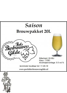 Peels Bierbrouwpakket Saison 20 LITER
