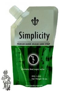 Candi Syrup Simplicity premium blonde