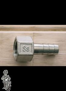 """Ss Brewtech™ Slangtuit 1/2"""" naar 1/2"""" FPT"""
