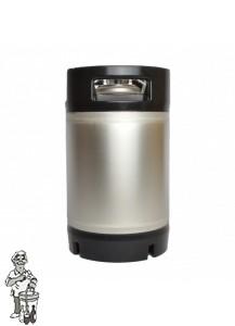 SODA-KEG DRUKVAT-SET COMPLEET  Met Soda keg 9,45 Liter