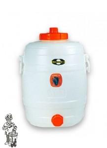 Gistingsvat plastic Speidel incl. kraan en waterslot 30 liter