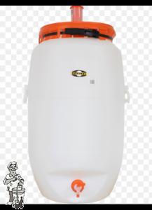 Speidel 120 liter gistingsvat compleet rond