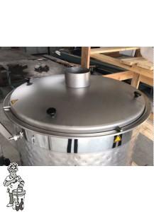 RVS hoed voor Speidel Braumeister 200 liter