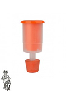 Speidel waterslot plastic cylindrisch incl. rubber stop