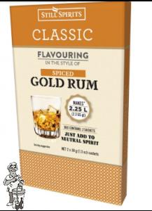 Klassieke gekruide gouden rum 38 g Still spirits