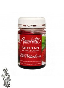Amoretti - Artisan Natural Flavors - Wilde aardbei 226 g