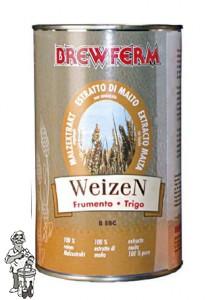 Brewferm Moutextract vloeibaar tarwe ongehopt  1,5 kg
