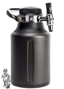 GrowlerWerks uKeg™ Go Tungsten 64 1.9 liter