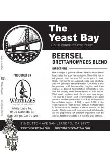 The Yeast Bay Beersel Brettanomyces Blend