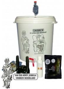 Startpakket compleet met Unibrew Pale Ale