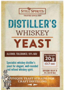 Still spirits Whisky Yeast korrel