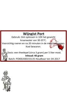 Wijngist Port 40 gram