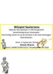 Wijngist Sauterness 40 Gram