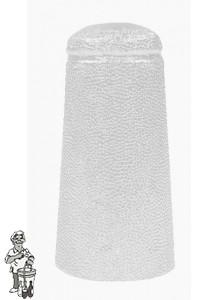 Aluminium kapsules wit 34 x 90 mm 100 stuks.